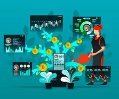 Social media and financial technology
