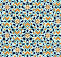 patrón islámico sin fisuras. vector