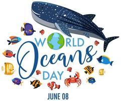 icono del día mundial de los océanos