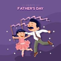 Happy Father's Day Ballet Concept