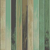 Vintage wooden background with faded green colors vector