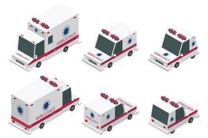 Isometric ambulance set