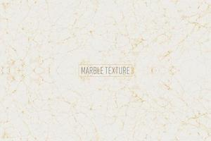 White and gold marble texture vector