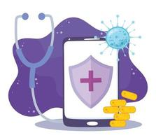 Online medical care via smartphone