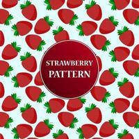 Cartoon strawberry pattern