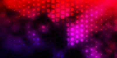 Fondo de cuadrados de color rosa oscuro y rojo