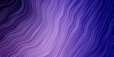 plantilla de color violeta claro con líneas torcidas. vector