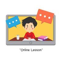 Kids Online Lessons Design
