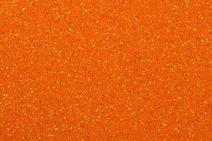 Orange glitter background