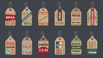 Big sale vintage badges set