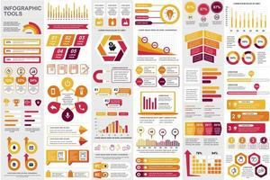Bundle business infographic elements