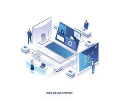 Front-end and back-end isometric design