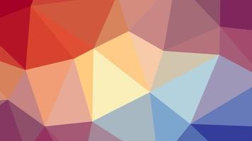 fondo del modelo del triángulo vector