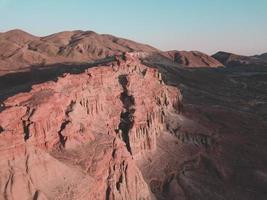 Brown rock cliff canyon photo