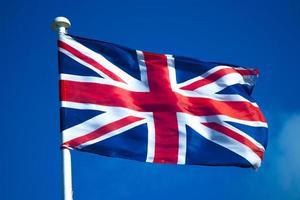 bandera union jack foto