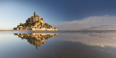 Mt Saint Michel in France photo