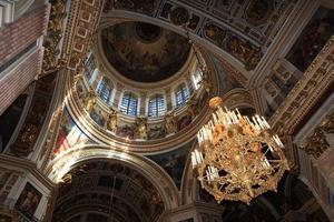 Interior of dome