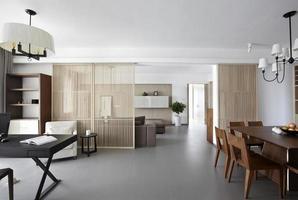 interior de casa elegante y confortable, comedor
