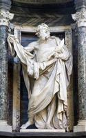 Rome - Apostle Bartolomeo statue from Lateran basilica
