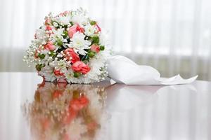 beautiful bridal bouquet at  wedding