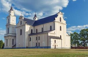 Catholic church in Budslav. photo