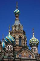 The Orthodox Cathedral, Saint Petersburg, Russia.