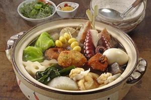 Oden (Japanese pot-au-feu)