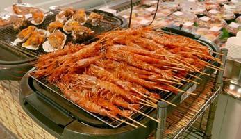 barbecue shrimps photo