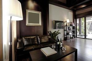 Stylish and elegant private club photo