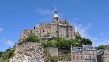 Mont St Michel Abbey France photo