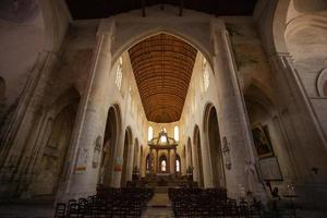 templo católico interior foto