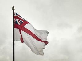 bandera naval británica foto