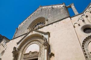 basílica de st. caterina. galatina. puglia. Italia. foto