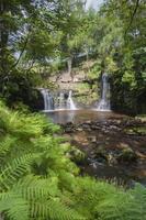 yorkshire moorland waterfall
