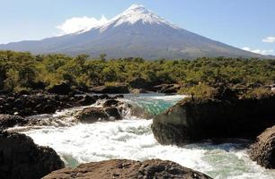 Osorno volcano.