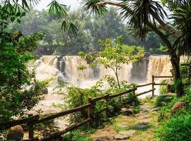 Giang Dien waterfall photo
