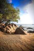 The island Phangan in Thailand