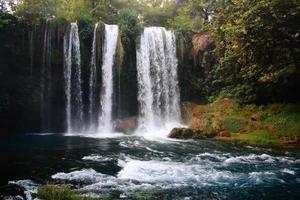 duden waterfall in turkey