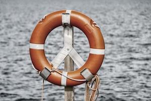 life belt, rescue ring photo
