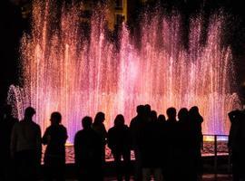 Fountain night show in Yerevan