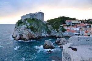 European coastal city