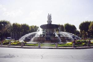 Fountain in Aix-en-Provence photo