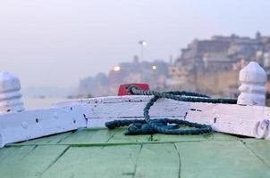boat on Varanasi photo