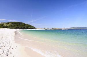 Rodas beach in Islands Cies.