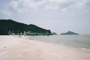 Laem Sala Beach Pran Buri in thailand photo