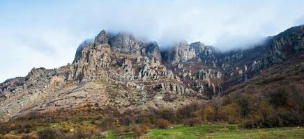 Ghost Valley. Crimea photo