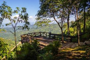 View point at Thong Pha Phum National Park