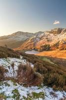 Sunny Winter Morning At Blea Tarn In The Lake District.