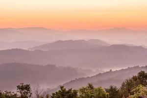 Sunrise scene photo