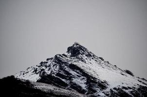 Hermitage in the snow, Ermita de la Trinidad, Mendaur Peak photo